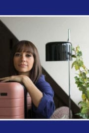 Rashida Jones Stills for Away Travel Luggage 2017 Ad Campaign