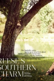 Reese Witherspoon Stills in Southern Living Magazine, September 2017