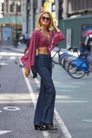 Romee Strijd Stills at Fittings for Victoria's Secret Fashion Show 2017 in New York