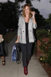 Rosie Huntington-Whiteley Stills Arrives at a Party in Hollywood