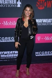 Sarah Shahi Stills at Ime & Mayweather Promotions VIP Pre-fight Party in Las Vegas