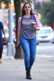 Sarah Silverman Stills Out and About in New York Photos