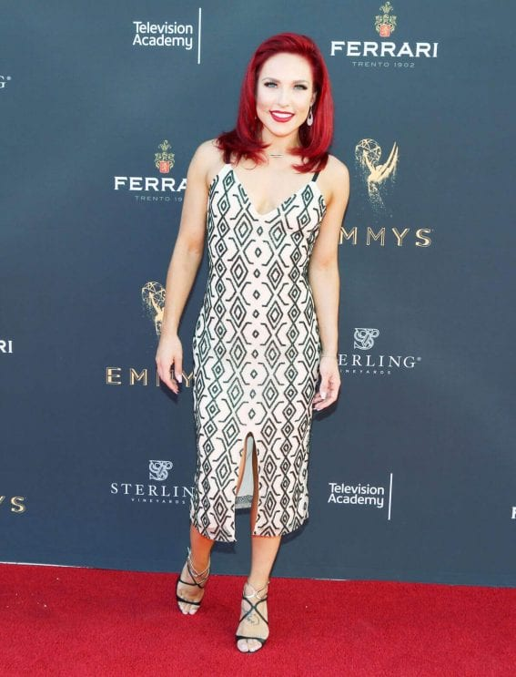 Sharna Burgess Stills at Television Academys Choreography Celebration in Los Angeles