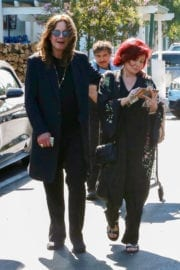 Sharon and Ozzy Osbourne Shopping Stills at Bristol Farms in West Hollywood