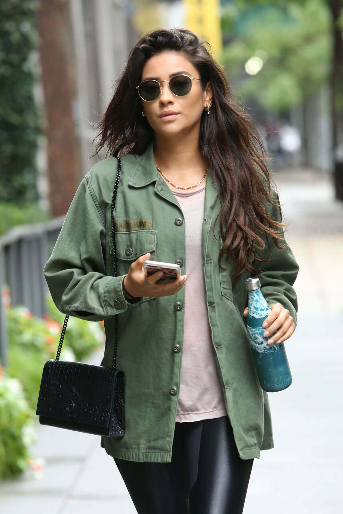Shay Mitchell Stills Out and About in New York Images