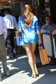 Shiva Safai Stills Out Shopping in Beverly Hills
