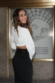 Skylar Stecker Stills Promotes Her Single Only Want You at E! News in New York