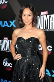 """Sonya Balmores Stills at """"Marvel's Inhumans - The First Chapter"""" Premiere in Universal City"""
