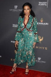 Susan Kelechi Watson Stills at Emmys Cocktail Reception in Los Angeles