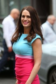 Susie Amy Stills Out and About in London Photos