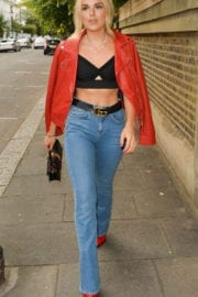 Tallia Storm Stills Out and About in London Photos