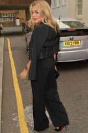 Tallia Storma Stills Heading to a Tom Ford Event in London