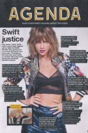 Taylor Swift Photos in NME, August 2017 Issue
