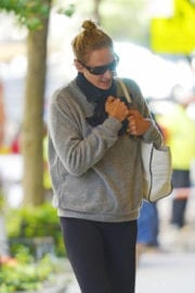 Uma Thurman Stills Out and About in New York Photos