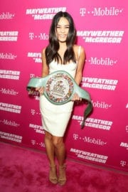 Vanessa Hudgens Stills at Ime & Mayweather Promotions VIP Pre-fight Party in Las Vegas