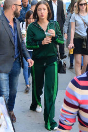 Adele Exarchopoulos Out and About in Toronto
