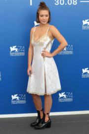 Adele Exarchopoulos Stills at Racer and the Jailbird Photocall in Venice