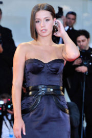 Adele Exarchopoulos Stils at 'Racer and The Jailbird' Screening at 74th Venice Film Festival