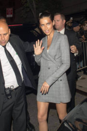 ADRIANA LIMA Night Out in New York