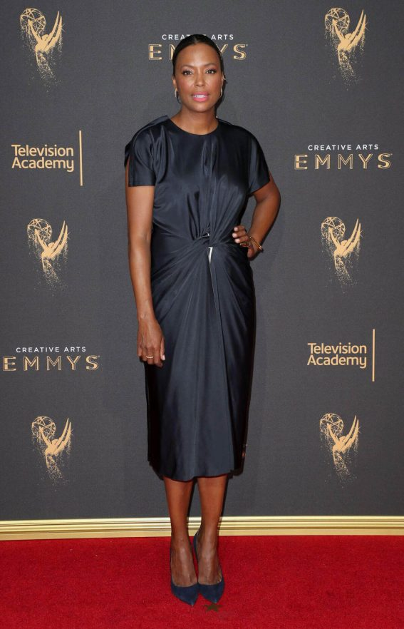 Aisha Tyler at Creative Arts Emmy Awards in Los Angeles