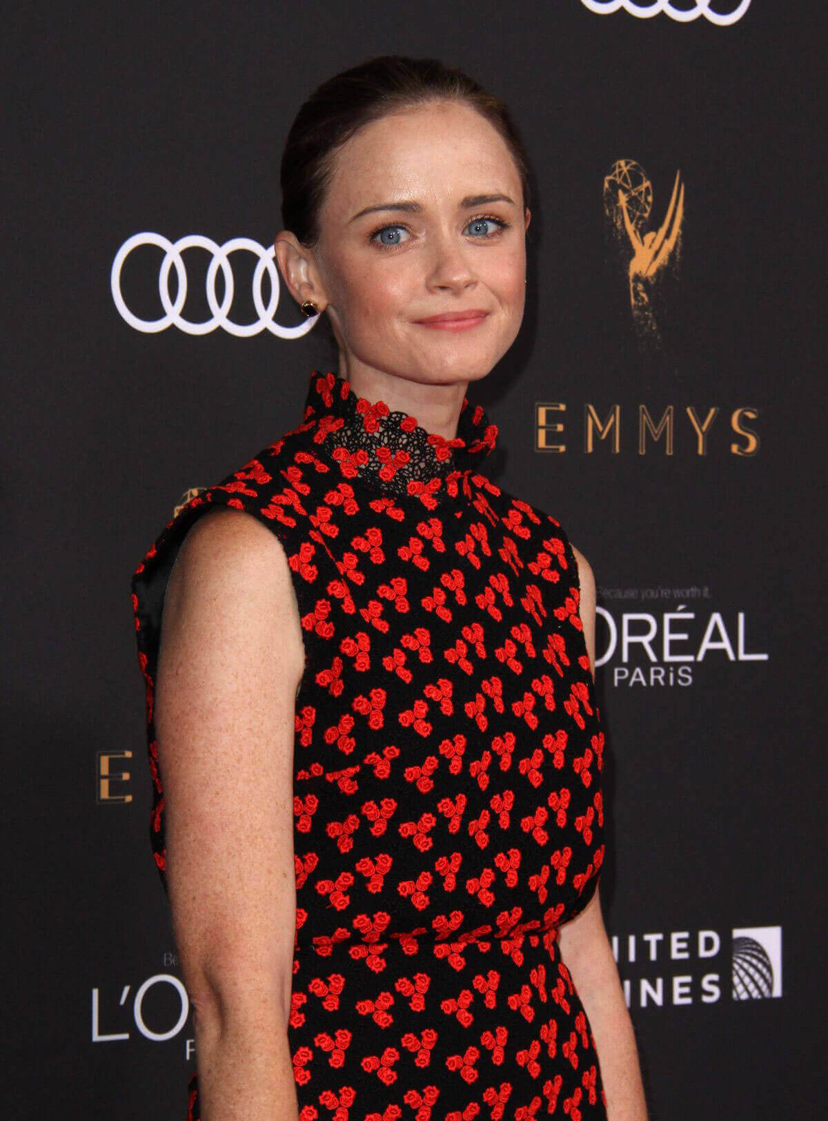 Alexis Bledel Stills at Television Academy 69th Emmy Performer Nominees Cocktail Reception in Beverly Hills