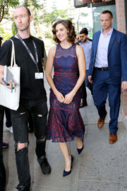 Alison Brie Out and About in Toronto