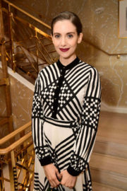 Alison Brie Stills at Glamour x Tory Burch Women to Watch Lunch in Beverly Hills