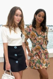 Alycia Debnam Carey Stills Out for Lunch at Hotel Cipriani in Venice