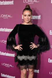 Alyssa Milano Stills at 2017 Entertainment Weekly Pre-emmy Party in West Hollywood