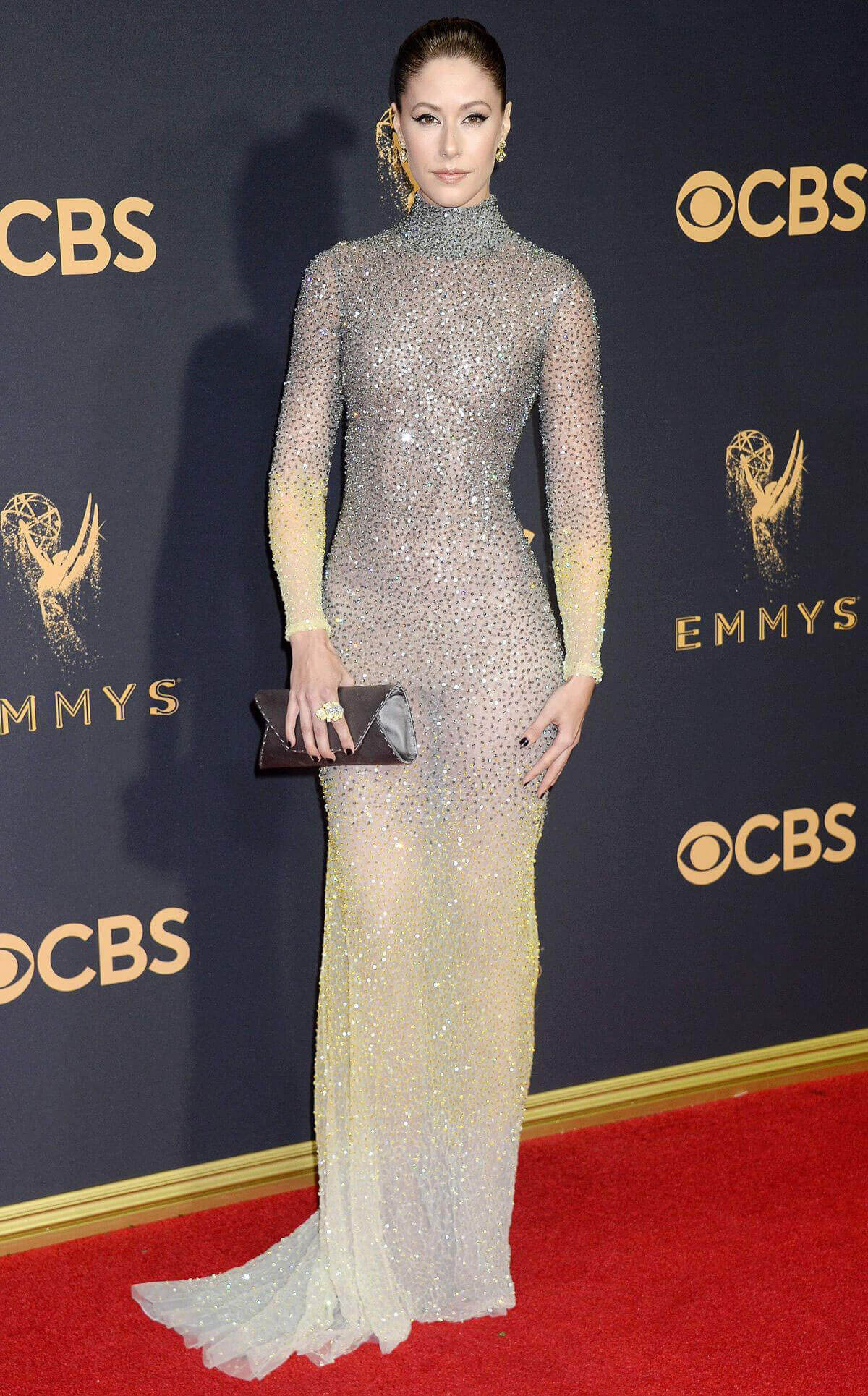 Amanda Crew Stills at 69th Annual Primetime Emmy Awards in Los Angeles