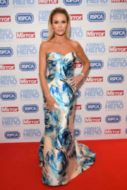 Amanda Holden Stills Animal Hero Awards 2017 in London