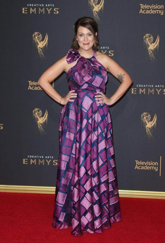 Amber Nash at Creative Arts Emmy Awards in Los Angeles