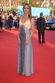 Ana Girardot Stills at Good Time Premiere at 43rd Deauville American Film Festival
