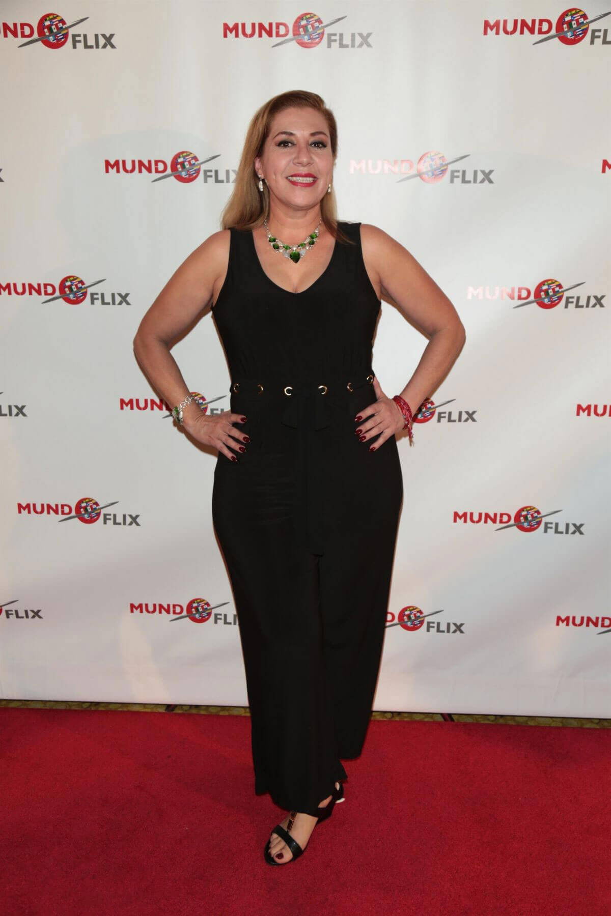 Ana Salazar Stils at MundoFlix Launch Party in Studio City