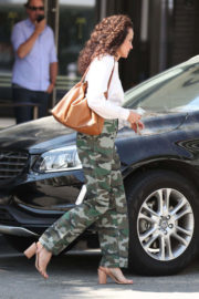 Andie MacDowell Stills Out for Lunch in Beverly Hills