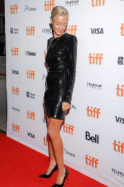 Andrea Riseborough Stills at 'The Death of Stalin' Premiere at TIFF in Toronto