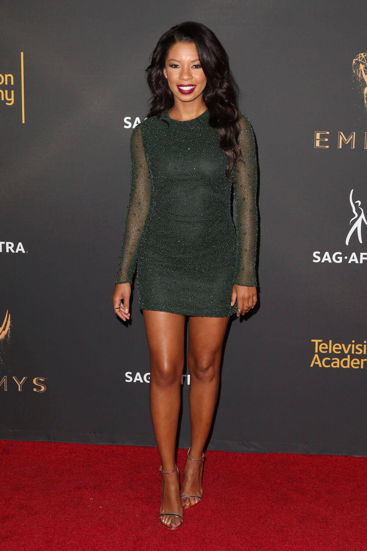 Angel Parker at Dynamic & Diverse Emmy Reception in Los Angeles