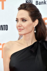 Angelina Jolie Stills at 'First They Killed My Father' Movie at TIFF in Toronto