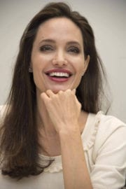 """Angelina Jolie Stills at """"First They Killed My Father"""" Press Conference in Beverly Hills"""
