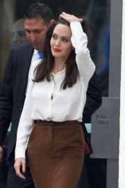 Angelina Jolie Stills at United Nations Headquarters in New York