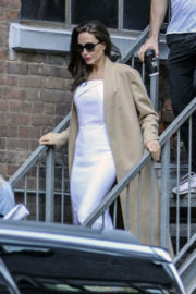 Angelina Jolie Stills Out and About in Toronto