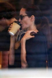 Angelina Jolie Stills Out for Lunch in Los Angeles