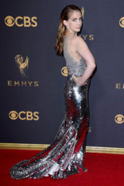 Anna Chlumsky Stills at 69th Annual Primetime Emmy Awards in Los Angeles