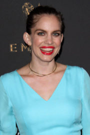 Anna Chlumsky Stills at Television Academy 69th Emmy Performer Nominees Cocktail Reception in Beverly Hills