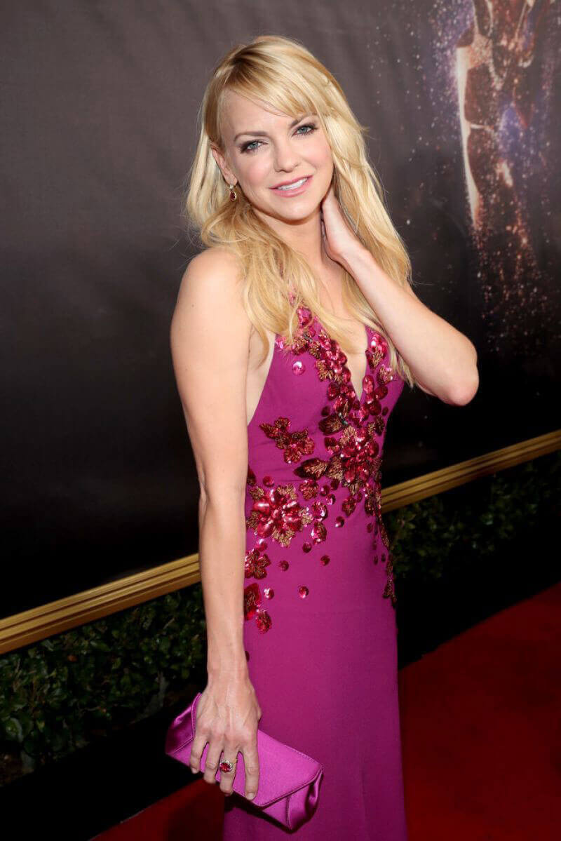 Anna Faris Stills at 69th Annual Primetime Emmy Awards in Los Angeles