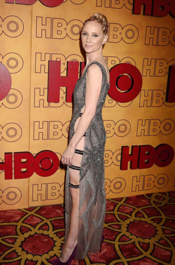 Anne Heche Stills at HBO Post Emmy Awards Reception in Los Angeles