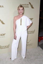 Anne Heche Stills at Hollywood Reporter and Sag-aftra Nominees Night in Beverly Hills
