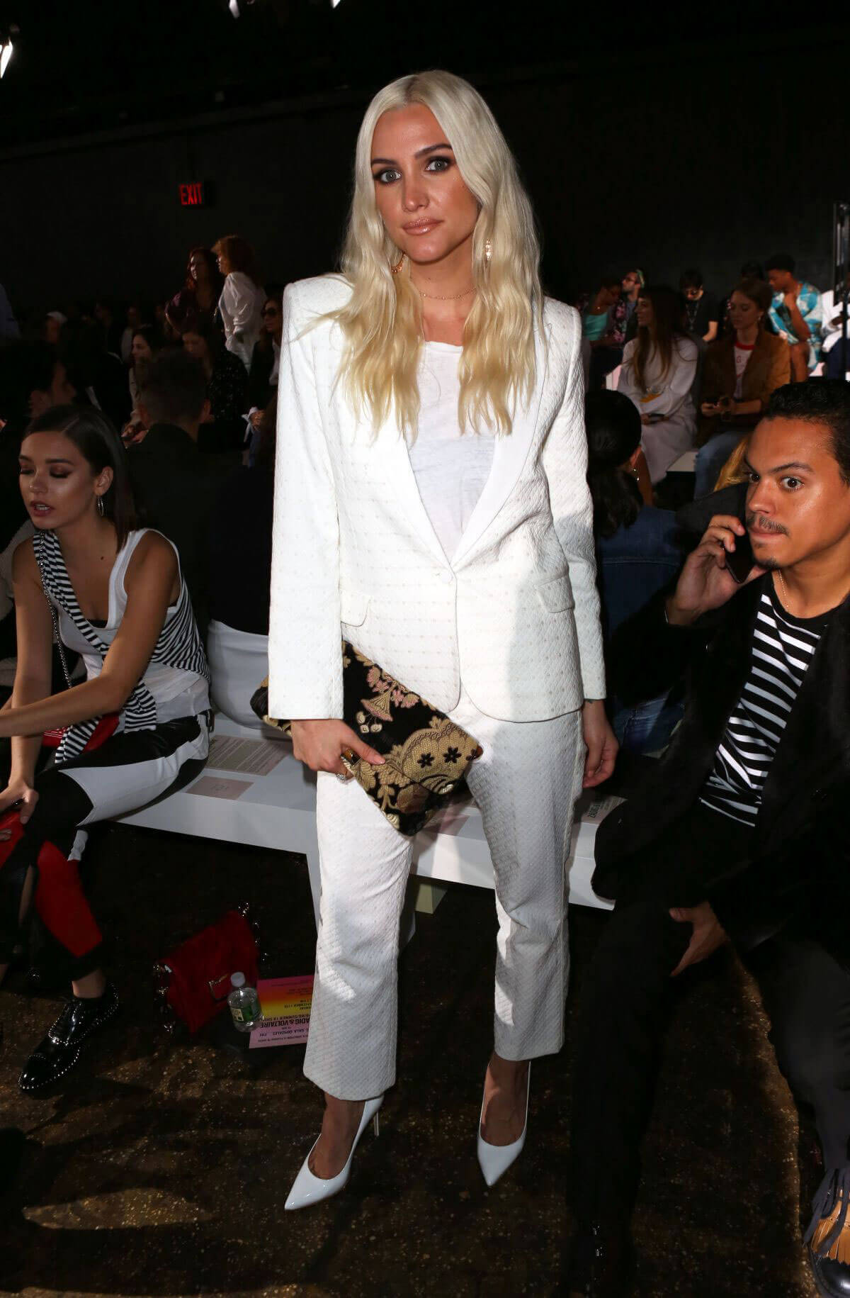 Ashlee Simpson at Zadig & Voltaire Fashion Show at New York Fashion Week