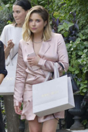 Ashley Benson Stills at Le Coucou French Restaurant in New York