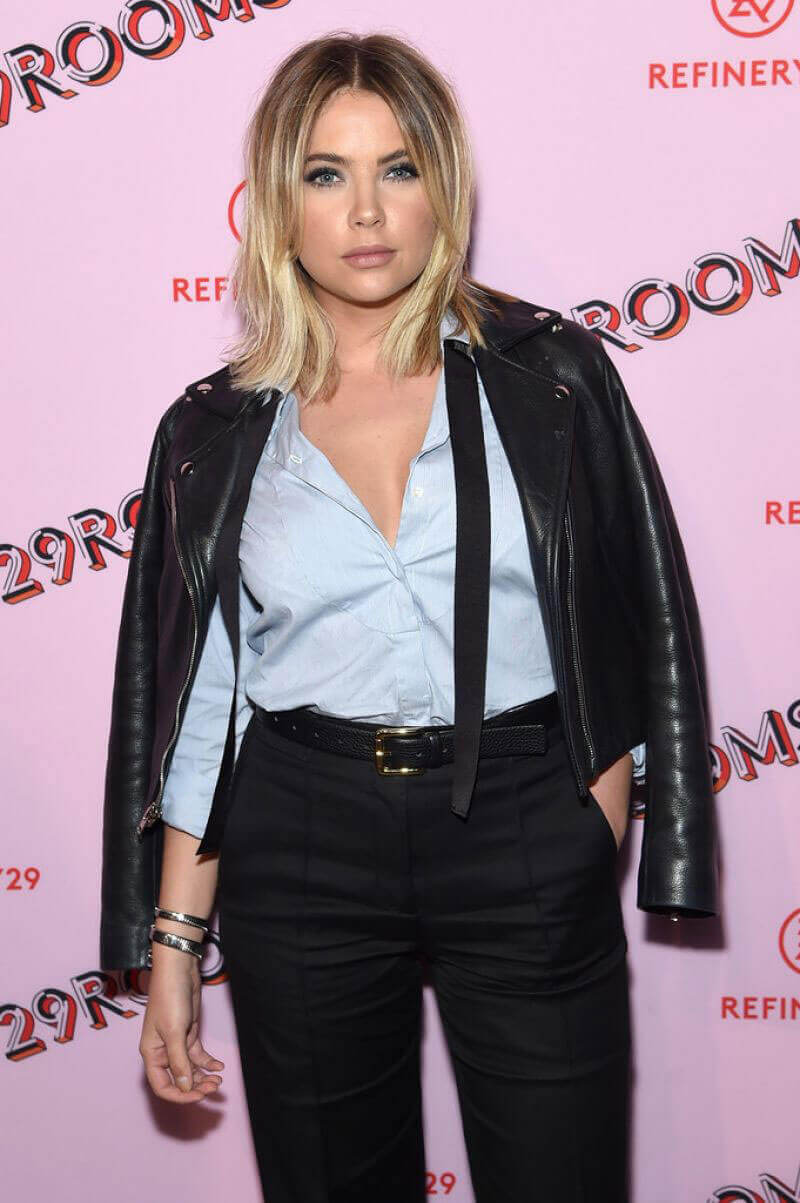 Ashley Benson Stills at Refinery29 Third Annual 29rooms : Turn It Into Art Event in Brooklyn